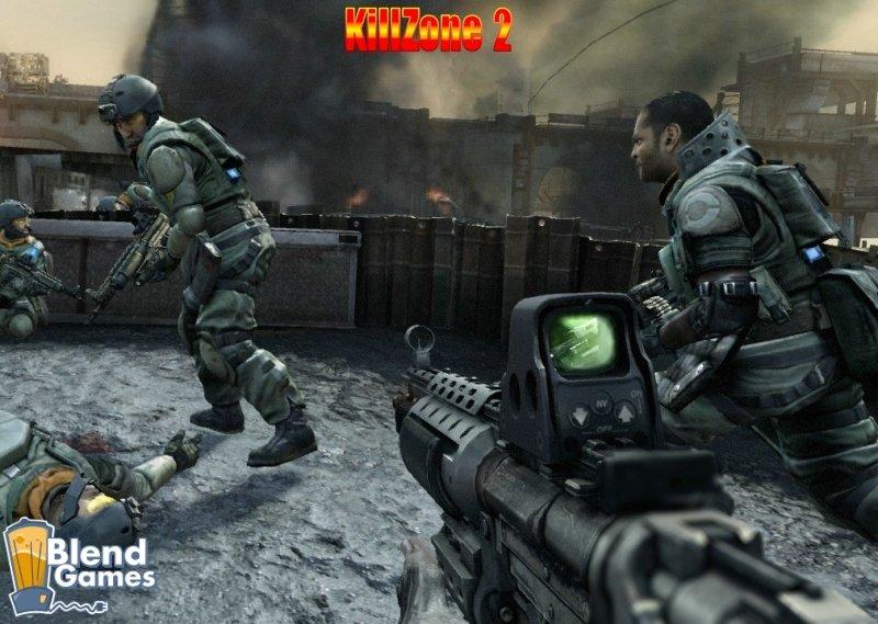 KillZone 2 Vs Crysis: Screenshot And Graphics Comparison #5188