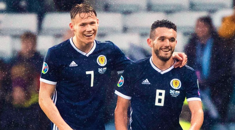 """John McGinn exclusive: """"I've collected Scotland Panini stickers, but now I've got about 150 Scott McTominays. I've seen enough of his face!"""""""