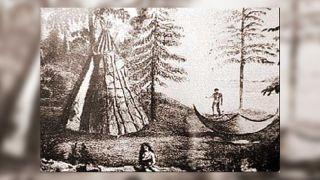 Beothuk camp.