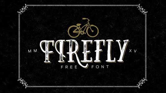 Font of the day: Firefly