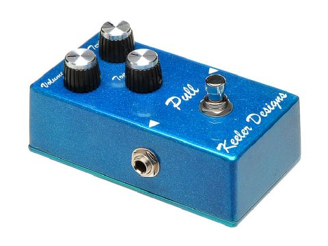 Pro-level low gain overdrive