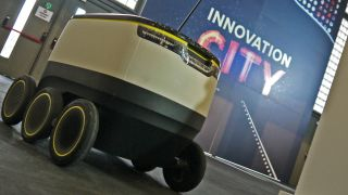 Meet Starship - the delivery robot that wants to carry your shopping for you