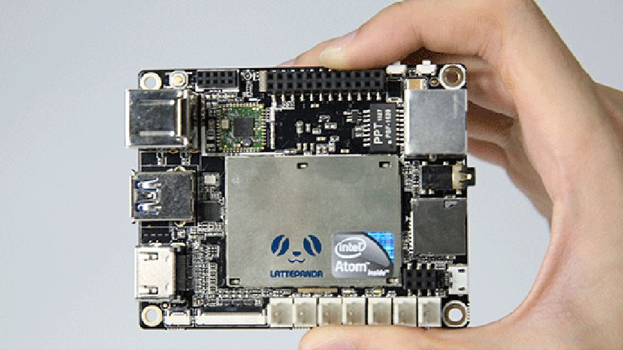 LattePanda is a tiny board with the full power of a Windows 10 PC