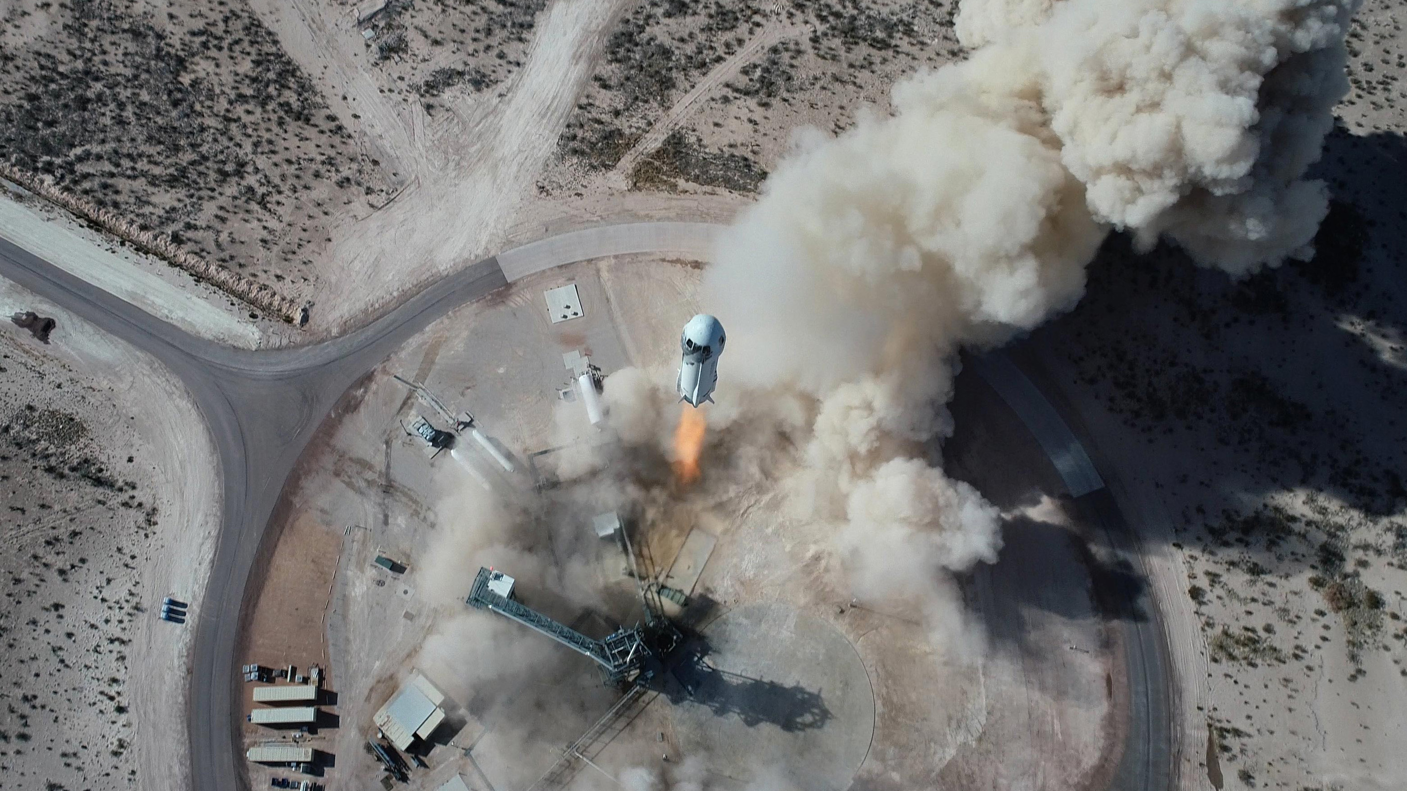 Are Bezos and Musk Launching Us Into a New Space Age, or Just a U.S. Space Grab?