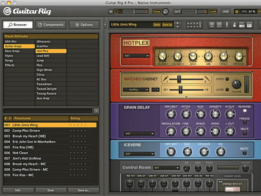 guitar rig 2 presets free download