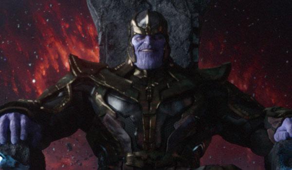 Avengers: Infinity War Behind The Scenes Photo Finds Josh Brolin In His Purple MoCap Pajamas