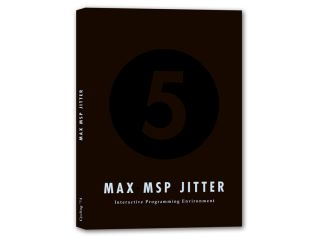 Max/MSP 5 is available in a box or as a download.