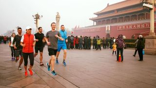 Mark Zuckerberg in Beijing.