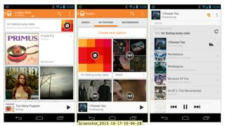 Google Play Music adds 'I'm feeling lucky radio' to ease musical indecision