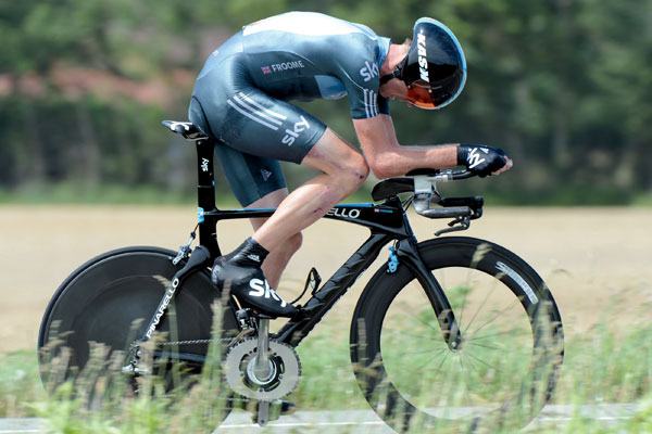 Chris Froome, Time Trial, Team Sky, Pinarello