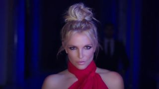 britney spears in slumber party music video