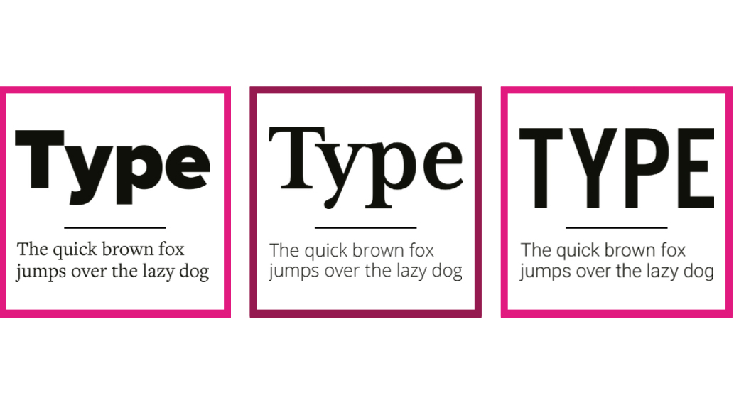 9 golden rules for combining fonts