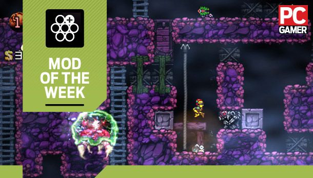 Mod of the Week: Metroid Mod, for Spelunky | PC Gamer