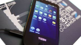 First Samsung Tizen handset breaks cover