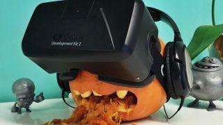 Oculus Rift pumpkin