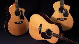 Faith Guitars PJE Legacy acoustic guitars