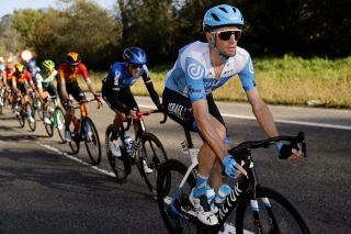 Israel Start-Up Nation's Rory Sutherland at the 2020 Vuelta a España – the Australian's last race as a professional