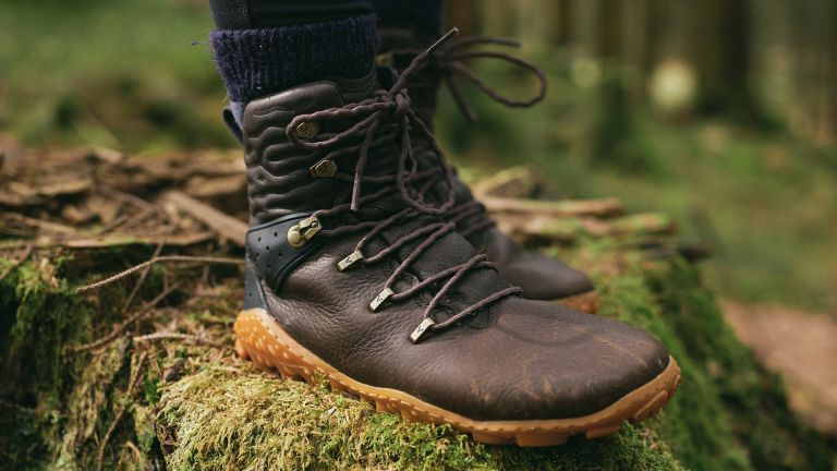 Vivobarefoot Tracker Forest ESC boots in use