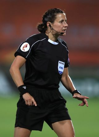 Kateryna Monzul will referee England's World Cup qualifier in Andorra