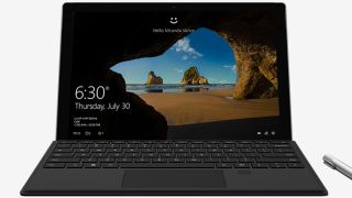 Surface Pro 4 with Fingerprint Sensor