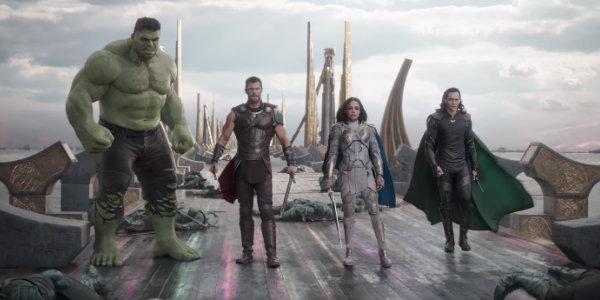 Thor ragnarok trailer Hulk Loki Valkyrie