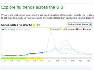 Google Flu Trends - searching for patterns