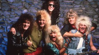 hair metal: poison in 1987