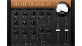 Multi Transient enables you to tweak each band independently.