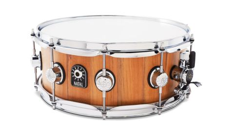 Stave drums are constructed from a series of interlocking segments - staves - in the same manner as a barrel