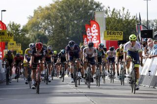 Circus-Wanty Gobert's Danny van Poppel (right) wins the 2020 edition of the Gooikse Pijl, with the organisers announcing a women's edition – the GP Oetingen – to take place in March 2021