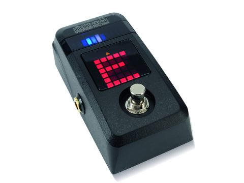 Korg's Pitchblack Poly runs off a single nine-volt battery.