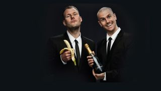 Dada Life Stefan Engblom right and Olle Corn er left