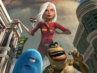 Monsters Vs Aliens 3D out in March
