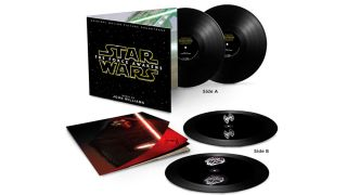 Star Wars Force Awakens vinyl set