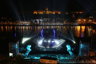 Robe Lights FINA World Championships Opening Ceremony