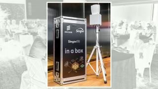 Singtel 5G in a box.
