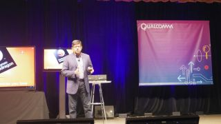 Qualcomm CMO Anand Chandrasekher at the 'What's Next in Mobile' conference
