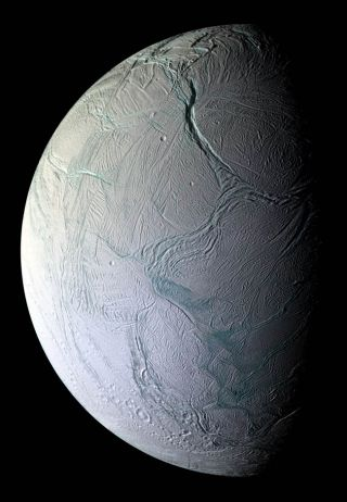 Icy Saturn Moon Burps Up Heat and Ice