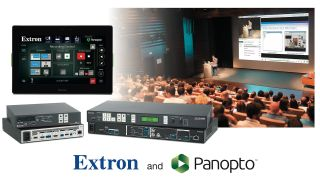 Extron has announced the immediate availability of enhanced features to connect Extron SMP 300 Series Streaming Media Recorder to Panopto enterprise video management systems.