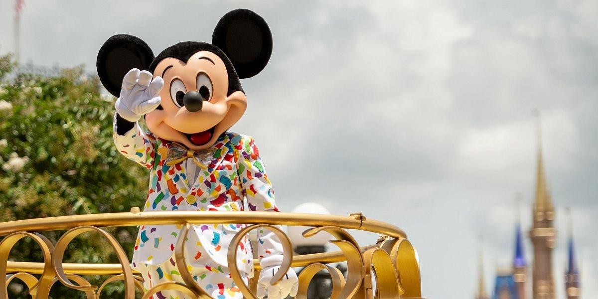 Mickey Mouse Cavalcade at Magic Kingdom