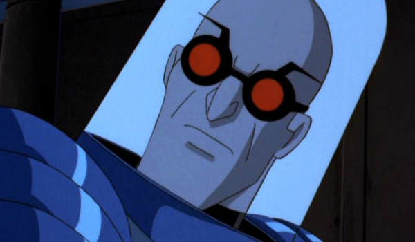 The animated Mr. Freeze