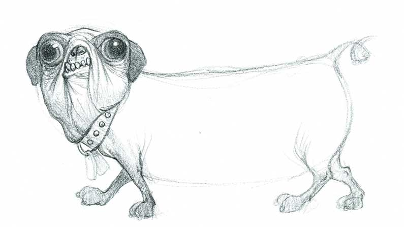 12 sketches that will bring a smile to your face creative bloq