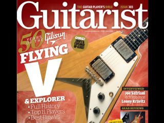 Guitarist magazine s celebratory issue goes on sale on 8 May in the UK