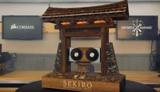 Watch how this incredible Sekiro-inspired PC case mod is built | PC Gamer