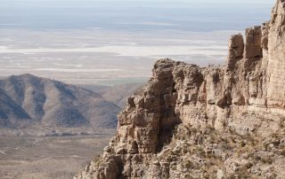 Guadalupe Mountains.