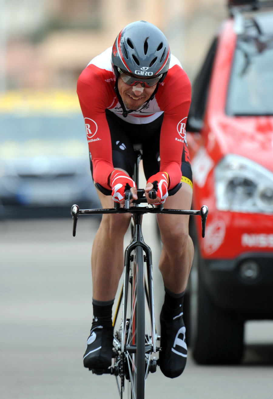 Andreas Kloden wins, Criterium International 2011, stage three TT