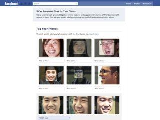 Facebook facial recognition
