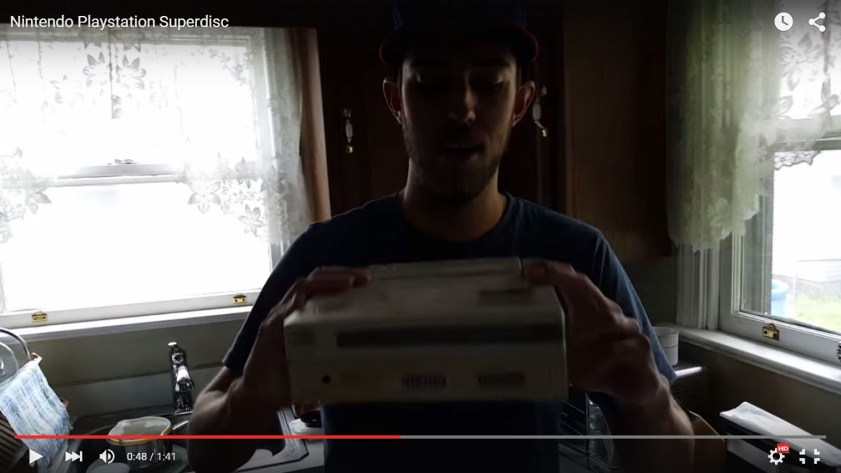 Stop everything: there's a video of the Sony/Nintendo PlayStation