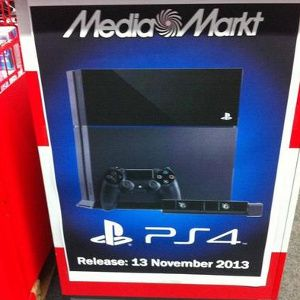 November 13 PS4 release on European retailers 'speculation,' Sony says
