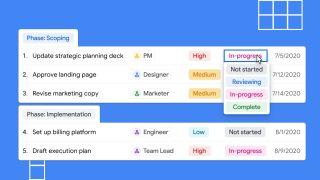 Tables Project Management
